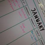 毎日見る予定表を英語で書こう~1Day English Classで集中レッスン開催