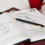 英語の時間が作れないなら毎日の予定表を英語にしてみませんか?