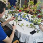 英語で生け花ワークショップを開催しました